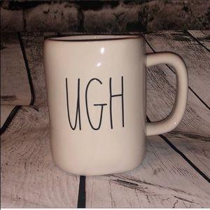 """2/$30 🎉🎉NWT Rae Dunn """"UGH"""" ceramic mug"""